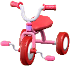 さんりんしゃのピンクの画像