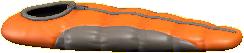 シュラフのオレンジの画像