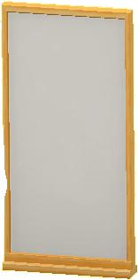 シンプルなパネルのライトブラウンの画像