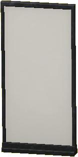 シンプルなパネルのブラックの画像