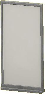 シンプルなパネルのシルバーの画像