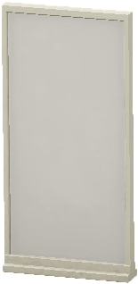 シンプルなパネルのホワイトの画像