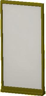 シンプルなパネルのゴールドの画像