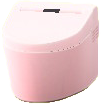 タンクレストイレのピンクの画像