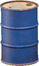 ドラムかんのブルーの画像