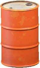 ドラムかんのオレンジの画像