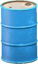 ドラムかんのライトブルーの画像