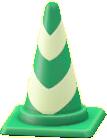 パイロンのグリーンストライプの画像