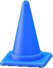 パイロンのブルーの画像