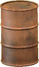 ドラムかんのダメージの画像