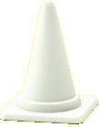 パイロンのホワイトの画像