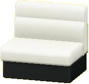 ボックスソファのホワイトの画像