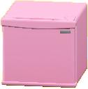ミニれいぞうこのピンクの画像