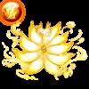 【神】狐面狐火纏し九尾のオーラ・雷のアイコン