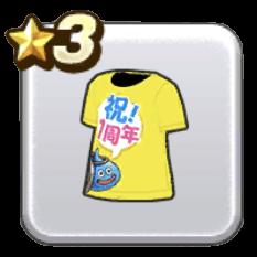 祝!1周年Tシャツ画像