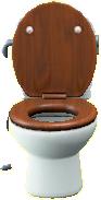 ようしきトイレのダークウッドの画像
