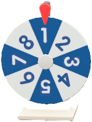 ACNH - The Two-Toned Numbers version of Colorful Wheel