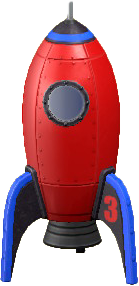ACNH - The Red version of Throwback Rocket