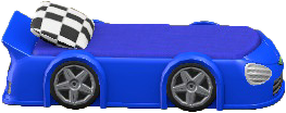 TOYなベッドのブルーの画像