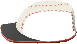 ACNH - The Baseball version of Throwback Hat Table