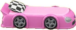 TOYなベッドのピンクの画像