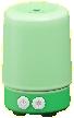 アロマディフューザーのグリーンの画像