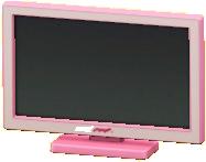 えきしょうテレビ20インチのピンクの画像