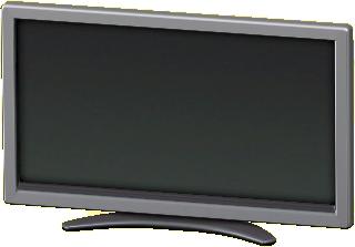 えきしょうテレビ50インチのシルバーの画像