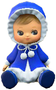 ACNH - The Blue version of Dolly