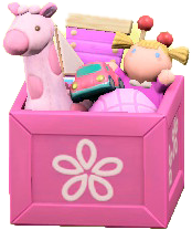 ACNH - The Pink version of Toy Box