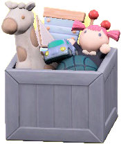 ACNH - The Gray version of Toy Box