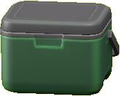 クーラーボックスのグリーンの画像