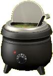 スープジャーのグリーンカレーの画像