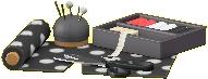 ソーイングセットのブラックの画像