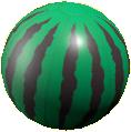 ビーチボールのスイカの画像
