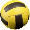 ボールのドッジボールの画像