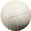 ボールのバレーボールの画像