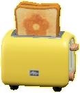 ポップアップトースターのイエローの画像