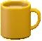 マグカップのイエローの画像