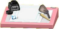 まんがかセットのピンクの画像