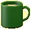マグカップのグリーンの画像