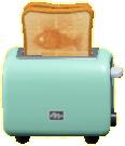 ポップアップトースターのライトブルーの画像