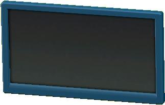 かべかけテレビ 50インチのブルーの画像