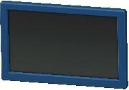 かべかけテレビ 20インチのブルーの画像