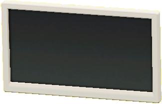 かべかけテレビ 50インチのホワイトの画像