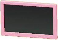かべかけテレビ 20インチのピンクの画像