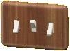 スイッチの木目調の画像