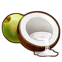 高級ココナッツの画像