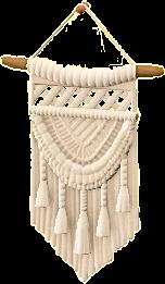 マクラメタペストリー画像