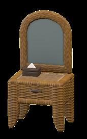 ラタンのドレッサー画像